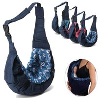 sırt çantası askıları toptan satış-Yenidoğan bebek bebek taşıyıcı çanta sling şal kundaklama bebek sırt çantası jartiyer klasik çocuk hemşirelik wrap kılıfı