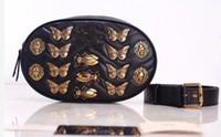 Wholesale Money Pack - Hot brand designers Insect patterns Waist Bags women Fanny Pack bags bum bag Belt Bag men Women Money Phone Handy Waist Purse Solid Travel B