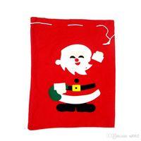 alegria natal venda por atacado-Sacos De Presente Do Saco De Papai Noel Casar Com Decorações De Natal Grande Número Vermelho Saco Acolhedor Crianças Favor Presentes De Alegria Presentes 5bx gg