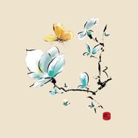 schmetterlingsblumenkleidung großhandel-Blume Schmetterling Patches Aufkleber DIY Aufkleber Für T-shirt Lustige Aufbügeln Transfers Patches Magie Aufkleber Für Kleidung