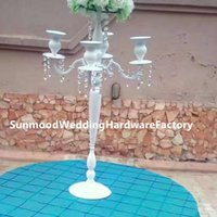 Wholesale cheap wedding candle centerpieces for sale - pillars stands flowers crystal vases decorative centerpieces for wedding table cheap