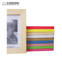 Wholesale Photo Frame Table - DUH Wooden Rectangle Photo Frames For Picture Multiple Sizes 5 6 7 8 10 Inches Optional Combination Photo Frames Table