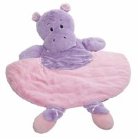 Wholesale plush duck dog toy resale online - baby crawling pad plush toy frog duck dog pet mat
