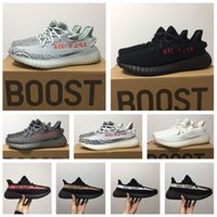 Wholesale summer cut out boots - SPLY 350 V2 Semi Frozen Yellow Beluga 2.0 Fashion Women and Men Running Sports Shoe Low Kanye West Boots Women's Men's Sneakers Training