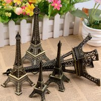 Wholesale paris keychain souvenir for sale - Group buy 3D Paris Eiffel Tower Keychain Pendant Metal Keyring Souvenir Key Buckle Fashion Novelty Gadget Trinket Gift Size SN1214