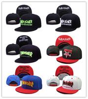 sombrero de verano de las mujeres coreanas al por mayor-Envío gratis llama Snapback Caps Sombreros Hombres Mujeres Deporte Corea Snap Volver Summer Truck Mesh Cap Hip Hop camión ajustable Hat