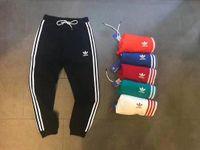 Wholesale track bottom men - New Brand Mens Joggers Casual Harem Sweatpants Sport Pants Men Gym Bottoms Track Training Jogging Trousers