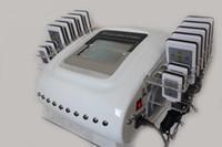 quema grasa rápido al por mayor-Caliente de calidad superior LipoLaser adelgazante Lipo Laser Fast Fat Burning Remover Instrumento Body shaping machine 14pads