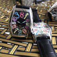 ko großhandel-Hochwertige Luxus Lady CRAZY HOURS 8880 CH Zifferblatt schwarz Automatik Edelstahl Damen Damenuhren