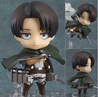 Wholesale new version mobile for sale - Group buy New Hot cm Q Version Attack On Titan Levi Rivaille Rival Ackerman Mobile Action Figure Toys Collection Christmas Toy Doll