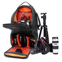 Wholesale video camera ipad - Professional For iPad Camera Video Bag DSLR Camera Bags Xiaomi SJCAM Action Cam Sports Backpack