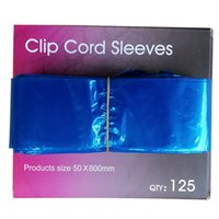 ingrosso artisti blu-Custodia Clipcord in plastica usa e getta blu ClipCord Custodia di ricambio per studi professionali e artisti