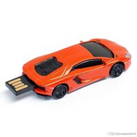kalem sürücü markaları toptan satış-Yeni marka Spor Araba USB Flash Sürücü Mini Cooper Karikatür Kalem Sürücü yeni Bellek Pendrive Sopa Kalem Metal USB Flash Sürücü 8 GB u08
