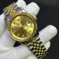 Wholesale woman copy - Relojes 2018 Copy Brand Fashion Casual Men's Watches Waterproof Stainless Steel watch men women Dress Watch Top Luxury Mens Wrist Watch