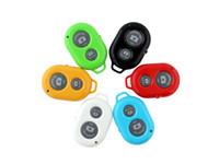 ingrosso polo auto timer senza fili-Wireless Bluetooth Autoscatto Telecomando Fotocamera Cellulare Otturatore Self-pole Remote Shutte Per iphoneX iphone7 8 Samsung S9 S8