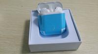 Wholesale Wireless Bluetooth Headset Price - TWS Bluetooth 4.1 Earphones Twins Wireless Headset Earbuds HBQ I7 HandsFree For Iphone 7 8 X samsung S8 NOTE 8 BEST PRICE