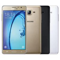 Wholesale dual sim 13mp camera for sale - Refurbished Original Samsung Galaxy On7 G6000 Dual SIM inch Quad Core GB RAM GB GB ROM MP G LTE Mobile Phone Free DHL