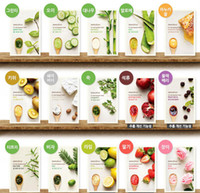 Wholesale 15 mask resale online - Original Korea It s Real INNISFREE Squeeze Mask Face Mask Whitening Moisturizing Anti Wrinkle Facial Mask Styles Random
