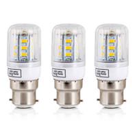 Wholesale v live - LED Lamp 220 V 240 V B22 Bajonet SMD5730 LED Maïs Licht 24 Leds Woondecoratie Indoor Verlichting LED Lamp
