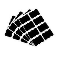 мелкая черная бумага оптовых-NAI YUE 36 Pcs Chalk Pen Наклейка наклейки Этикетки Виниловая плита Jar Wall Cup Бутылка Planner Mirror Decor Decals Теги