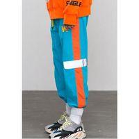 Wholesale mens pants 32 online - High Street Autumn Vintage Side Stripe Pants Fashion hip hop Elastic Waist Joggers pants Casual Sweatpants Mens Trousers