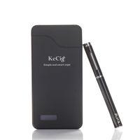 vape power bank оптовых-Оригинальный KeCig 3.0 B двойной комплекты Vape Pen 170mah батареи 0.7 мл атомайзер мини e сигареты двойной комплекты с 1200 мАч Power Bank