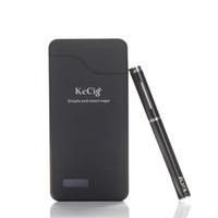 banco de poder de vapor venda por atacado-Original KeCig 3.0B Kits Duplo Vape Pen 170 mah Baterias 0.7 ml Atomizador Mini cigarro E Duplo Kits Com 1200 mah Banco De Potência