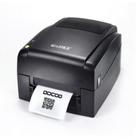 Wholesale black white paper stickers online - Quality thermal transfer printer EZ620 dpi USB thermal barcode label printer support multi type stickers paper tag