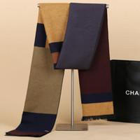 schalldämpfer für männer großhandel-Neue Männer Schal Farbe Vertrag Schalldämpfer Business Schal Schal Halstuch für Männer schal kostenloser versand