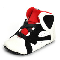 Wholesale baby first walked shoes infants online - Baby Infants soft Shoes kids leather walking First Walkers Shoes bottom Anti skid Autumn Winter Warm Toddler shoes