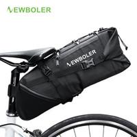 Wholesale bicycle bags panniers for sale - Group buy NEWBOLER Bike Bag Bicycle Saddle Bag Pannier Cycle Cycling mtb Bike Seat Bags Accessories L Waterproof