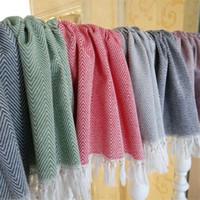 Cotton knit Dish Towel With Hand-made Tassel Napkin Tea Towel Dishtowel Kitchen Towel Cleaning Cloth Multi
