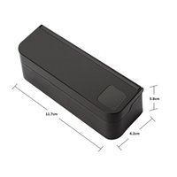 Wholesale coin container for sale - Group buy Universal Car Coin Holder Black Plastic Auto Coin Case Storage Box Holder Container Car Orginazer Accessories