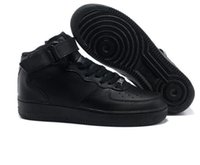 ingrosso scarpe ad alte marche per uomo-Nike Air Force one Marca discou 2018 Dunk Uomo Donna Flyline Running Shoes, Sport Skateboarding Ones Scarpe High Low Cut Bianco Nero Outdoor Sneakers da ginnastica