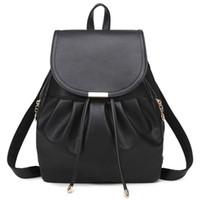 ingrosso zaino giapponese di stile coreano-Nuova borsa a tracolla femminile versione coreana PU femminile borsa borsa zaino studente stile giapponese e coreano moda casual