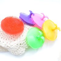 Wholesale Massage Shower Head Brush - Comfortable Scalp Massager Comb Shower Body Cleaning Brushes Plastic Shampoo Washing Hair Massage Brush For Bathroom Colorful