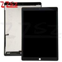 pantallas de ipad oem al por mayor-Venta al por mayor para iPad Pro 12.9 LCD pantalla táctil digitalizador asamblea reemplazo OEM alta calidad negro con envío gratis