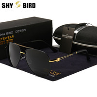 b770969911a High Quality Polarized Lens Fashion Sunglasses For Men And Women Brand  Designer Vintage Sport Sun Glasses With Case And Box Factory Direct