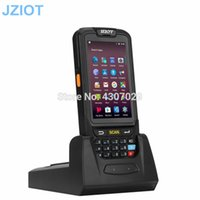 scanner portátil bluetooth venda por atacado-Bluetooth Robusto 4G WIFI GPS NFC PDA Android 1D 2D Barcode Scanner qr leitor de código de dados coletor de dados terminal portátil