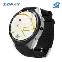 Wholesale 2gb watch for sale – best ZGPAX S99C G GPS Smartwatch inch Android MTK6580 GHz GB GB Smart Watch BT4 Wearable Devices for pk Zeblaze