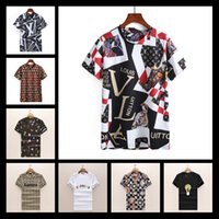 Wholesale new summer products - 2018 hot Summer Italy brand Summer new product Little monster Fashion print t-shirt designer luxury justin bieber Hip Hop shirt