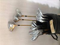 juegos completos de golf al por mayor-4 estrellas Juego Honma S-05 Juego Honma S-05 Golf Juego completo de palos de golf Conductor + Fairways + Hierros + Putter R / S / SR-Flex Eje con tapa de cabeza