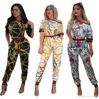 Wholesale Kawaii Pants - 2017 New Kawaii Floral Jumpsuit Fashion Women Spaghetti Strap Long Playsuits Casual Beach Long Pants Jumpsuits Overalls Pockets