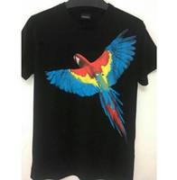 Wholesale blue staff - Marcelo Burlon T Shirt 18SS Men Women Staff Hip Hop Wings MB T-Shirt Italy Milan RODEO MAGAZINE Blue Marcelo Burlon T Shirts