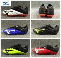 sapatas do futebol branding venda por atacado-2018 Nova Marca Mizuno NEO II FG Sapatos de Futebol Meninos Maillots de Botas De Futebol interior Ourdoor Juventude Chuteiras chaussures 39-45