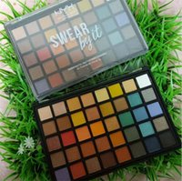 Wholesale eye shadow professional matte palette online - Dropshipping makeup NYX Eyeshadow Palette SWEAR byit palettes Cosmetics Colors Shimmer Beauty Matte Eye shadow Professional