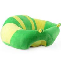 bebek bebek çantası toptan satış-Bebek Karikatür Hayvan Peluş Kanepe Koltuk Yumuşak Fasulye Torbası Sandalye Koltuk Karikatür Çocuk Sandalye çocuk Hediye için