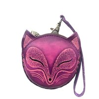 Wholesale coin offers - 2018 Special Offer Hot Sale Genuine Leather Unisex Leather Coin Handbag, Handmade Zero Wallet, Cowskin Animal Key Bag Pendant.