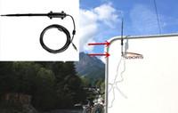 outdoor usb wireless adapter toptan satış-Duvar Montaj Kiti Açık Kablosuz USB Adaptörü 1.5 km Uzun Menzilli Wlan USB adaptörü Yüksek güç açık Wifi Roket 9dBi Anten