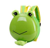 Wholesale toddlers backpacks resale online - 3D Cartoon Kindergarden Backpacks Children Mini Toddler School Bags For Kids Bag Girls Boys Cute animal zoo preschool Backpack